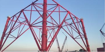 """世界最高输电铁塔正式穿上中科银亿制造的""""防腐铠甲"""""""