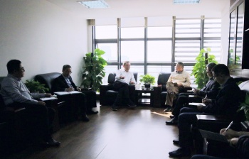 市十四届政协副主席陈炳水一行到银亿集团调研